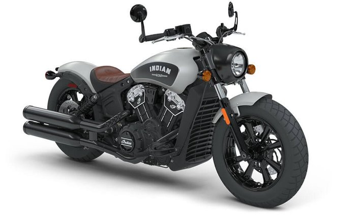 2021 Indian SCOUT BOBBER STAR SILVER SMOKE
