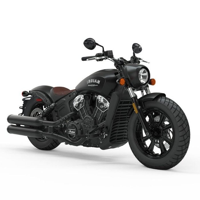 2021 Indian SCOUT BOBBER THUNDER BLK SMOKE