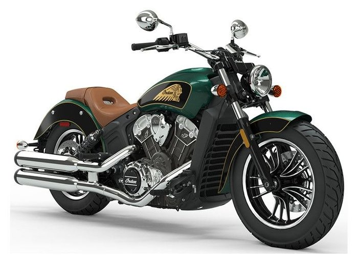 2021 Indian SCOUT METALLIC JADE