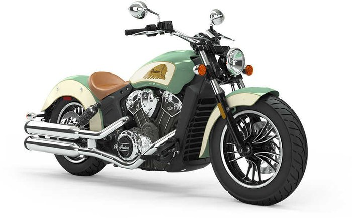 2021 Indian SCOUT WILLOW GREEN IVORY