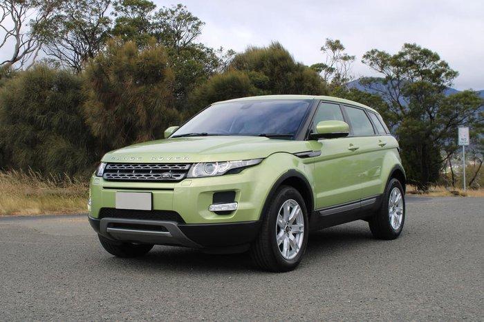 2013 Land Rover Range Rover Evoque SD4 Pure L538 MY13 4X4 Constant Green