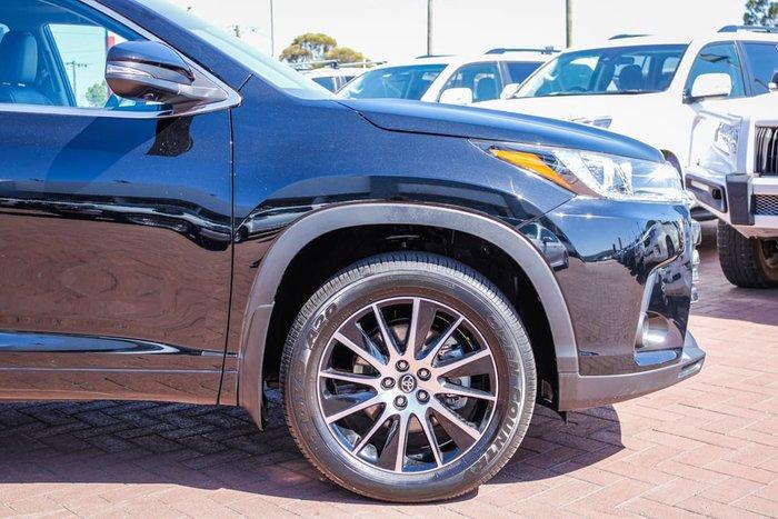 2019 Toyota Kluger Grande GSU55R Four Wheel Drive Black
