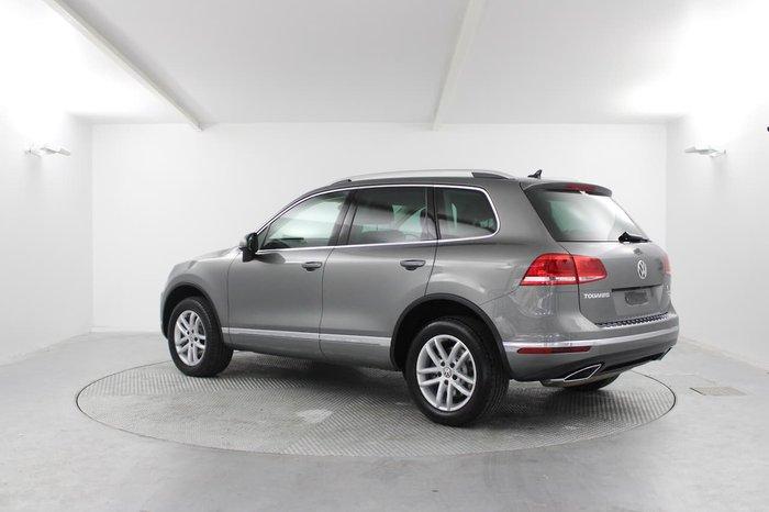 2017 Volkswagen Touareg 150TDI Element 7P MY17 Four Wheel Drive Grey