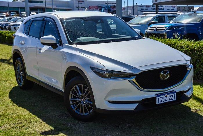 2019 Mazda CX-5 Maxx Sport KF Series 4X4 On Demand White