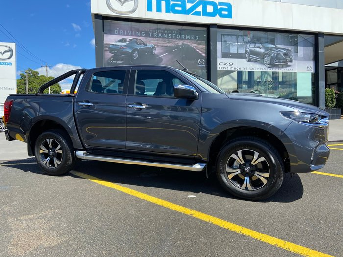 2020 Mazda BT-50 GT TF 4X4 Dual Range Rock Grey