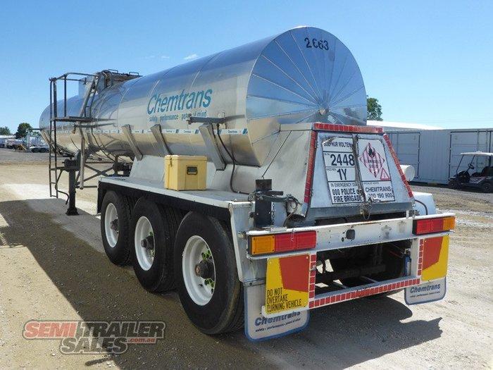 1992 Custom Semi Chemtrans 37FT Tanker