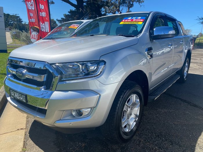 2018 Ford Ranger XLT PX MkII MY18 4X4 Dual Range Silver