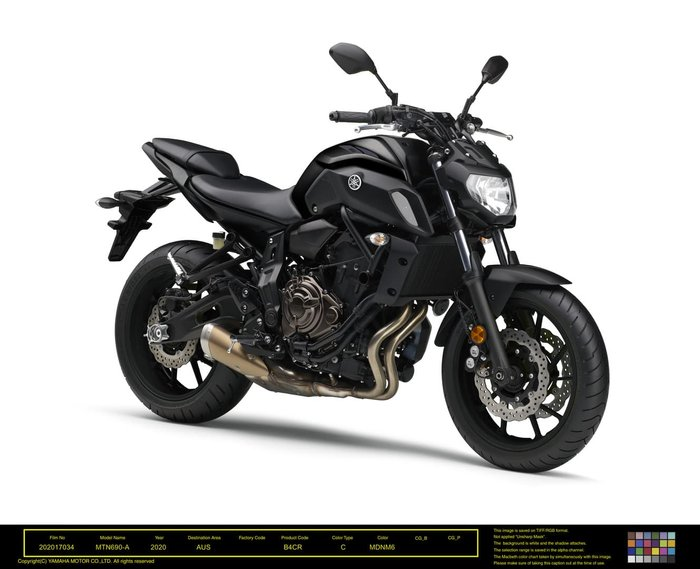 2020 Yamaha MT-07 LAMS MT Ice Fluo; Icon Blue or Tech Black