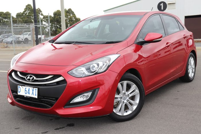 2014 Hyundai i30 Trophy GD2 MY14 Red