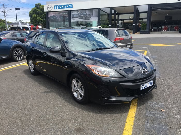 2012 Mazda 3 Neo BL Series 2 Black