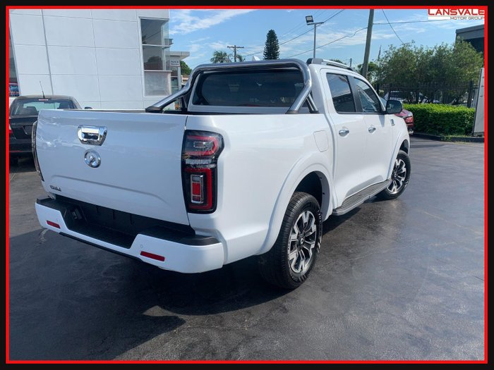 2020 GWM Ute Cannon-L NPW MY2021 PURE WHITE