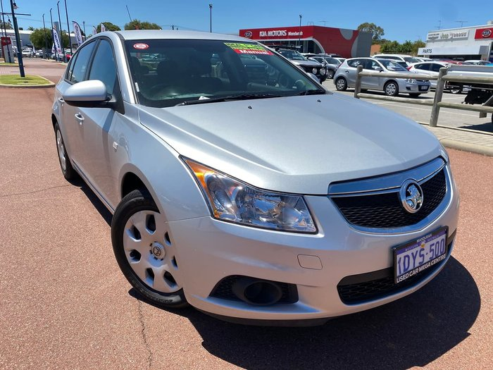 2012 Holden Cruze CD JH Series II MY12 Silver