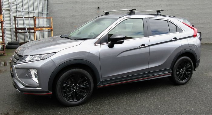 2019 Mitsubishi Eclipse Cross Black Edition YA MY19 Grey