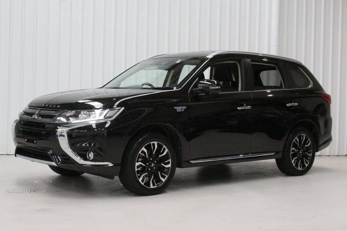 2018 Mitsubishi Outlander PHEV Exceed ZK MY18 Four Wheel Drive Brown