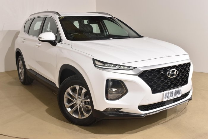 2018 Hyundai Santa Fe Active TM MY19 4X4 On Demand White Cream