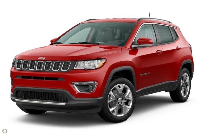 2020 Jeep Compass Limited M6 MY20 4X4 On Demand Red