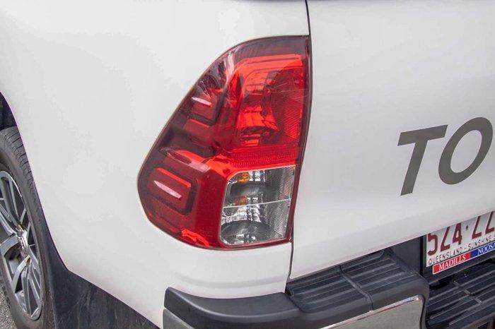 2015 Toyota Hilux SR5 GUN126R 4X4 Dual Range White