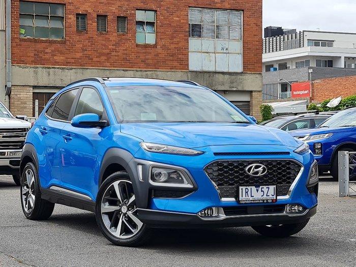 2020 Hyundai Kona Highlander OS.3 MY20 Blue