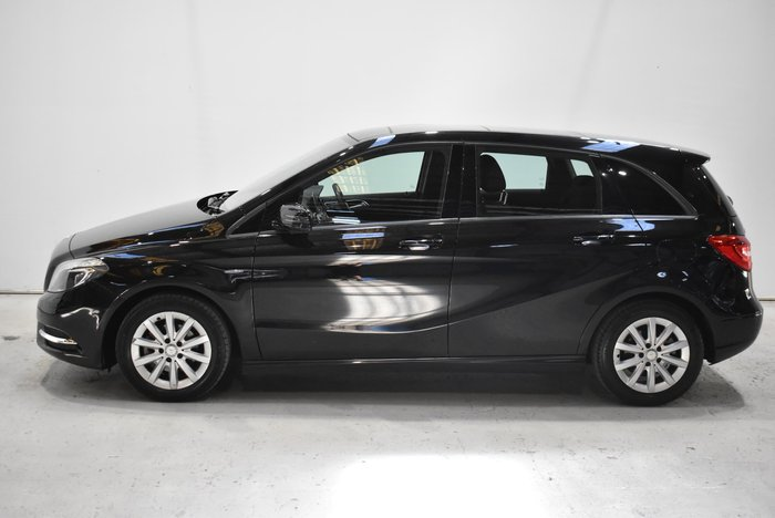 2012 Mercedes-Benz B-Class B180 BlueEFFICIENCY W246 Black