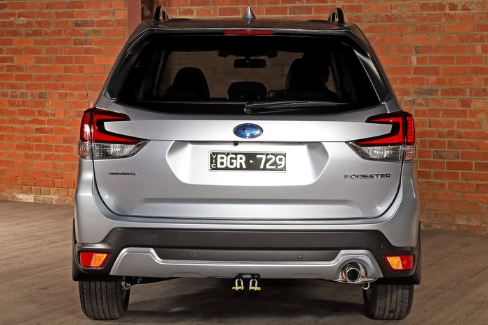2020 Subaru Forester 2.5i-S S5 MY21 Four Wheel Drive Ice Silver