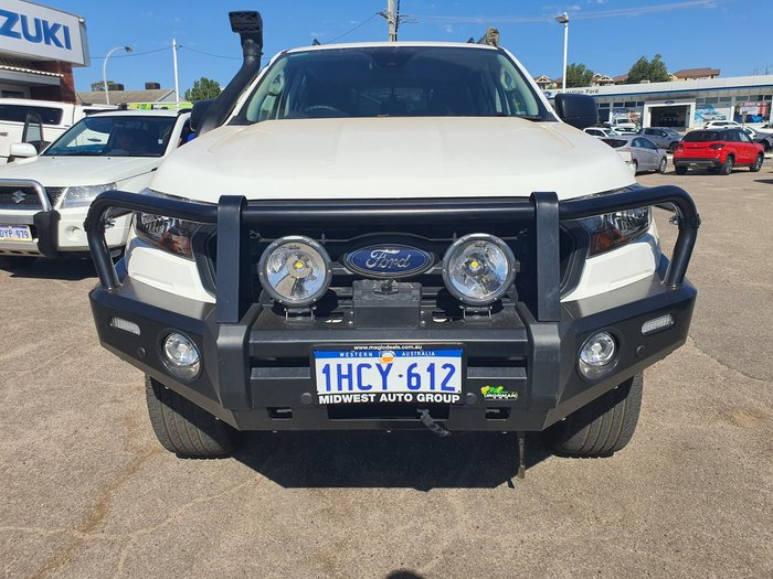 2019 Ford Ranger XL PX MkIII MY19.75 4X4 Dual Range Arctic White