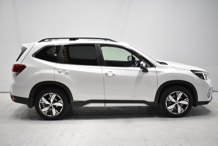 2018 Subaru Forester 2.5i-S S5 MY19 Four Wheel Drive Crystal White