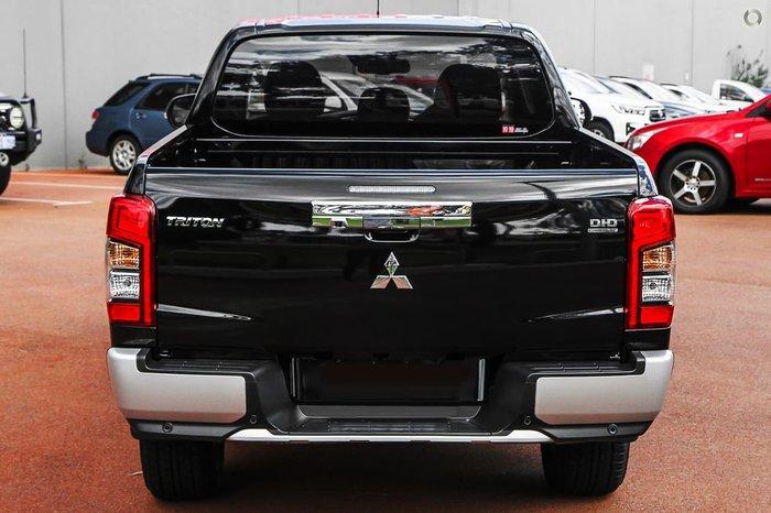 2020 Mitsubishi Triton GLS MR MY21 4X4 Dual Range Black