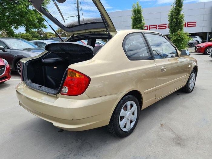 2004 Hyundai Accent GL LC MY04 Gold