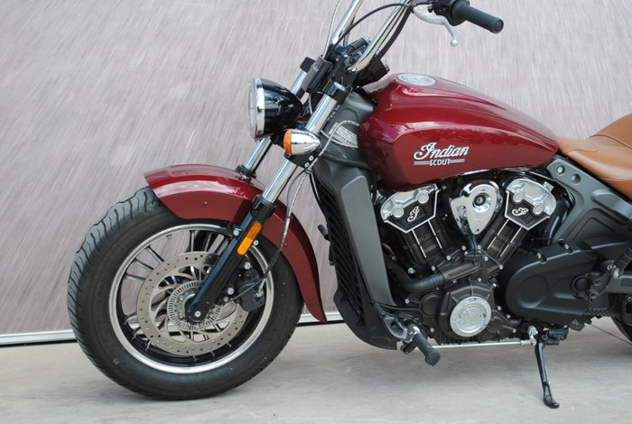 2017 Indian SCOUT Burgundy