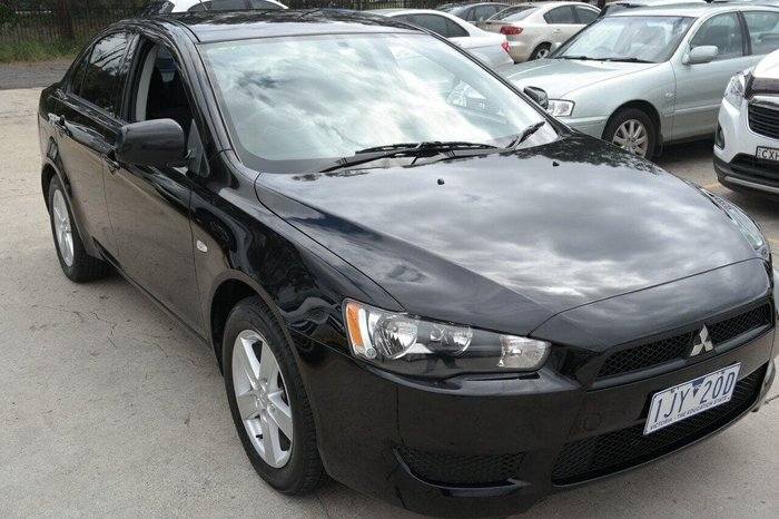 2014 Mitsubishi Lancer ES Sport CJ MY15 Black