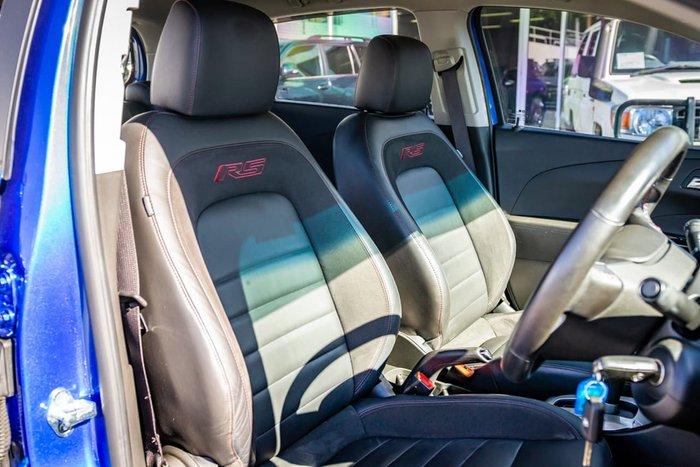 2014 Holden Barina RS TM MY15 Blue