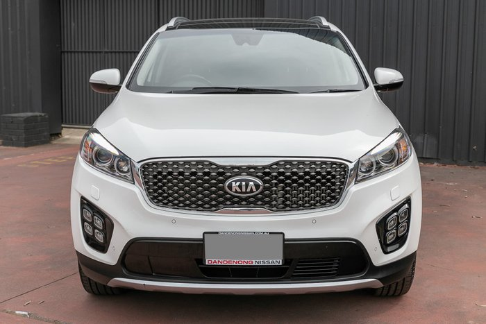2016 Kia Sorento Platinum UM MY16 4X4 On Demand Clear White