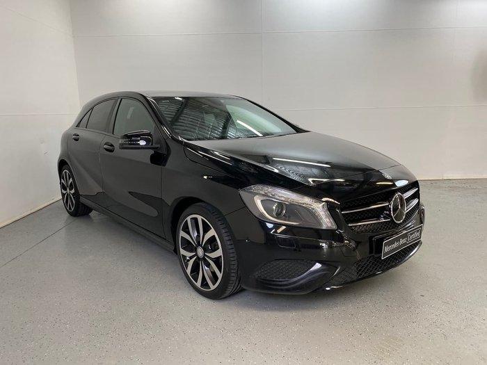 2015 Mercedes-Benz A-Class A200 W176 Black