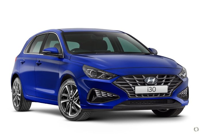 2020 Hyundai i30 Elite PD.V4 MY21 Intense Blue