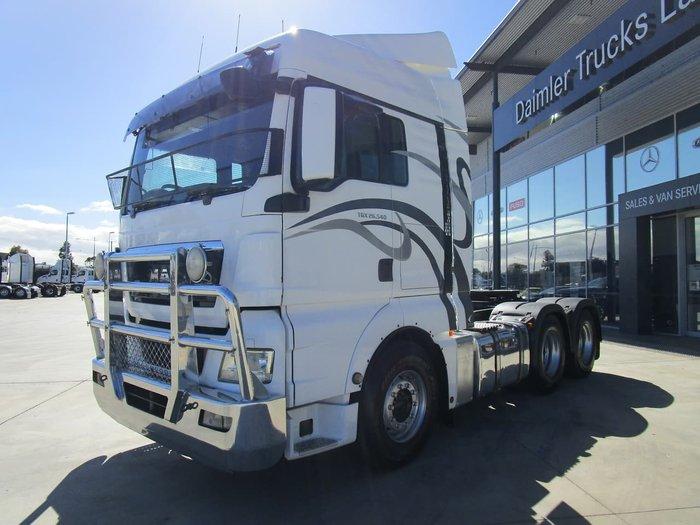 2011 MAN TGX 26-540 WHITE