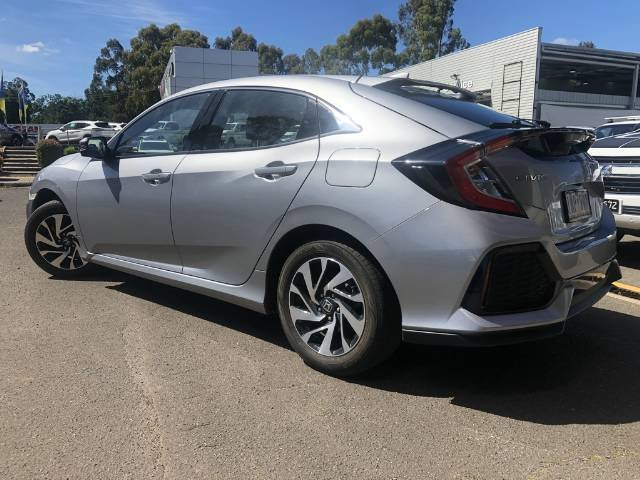 2018 Honda Civic VTi-S 10th Gen MY18 LUNA SILVER