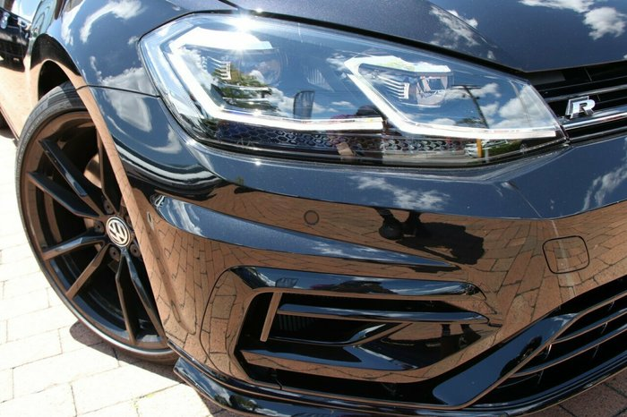 2020 Volkswagen Golf R Special Edition 2.0L T/P 7Spd DSG Hach MY19 4WD Deep Black Pearl Effect