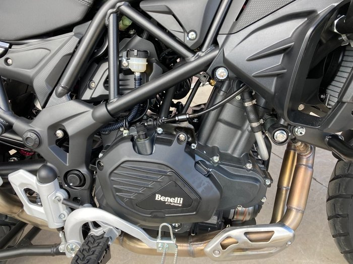2021 Benelli TRK 502X (ABS) White