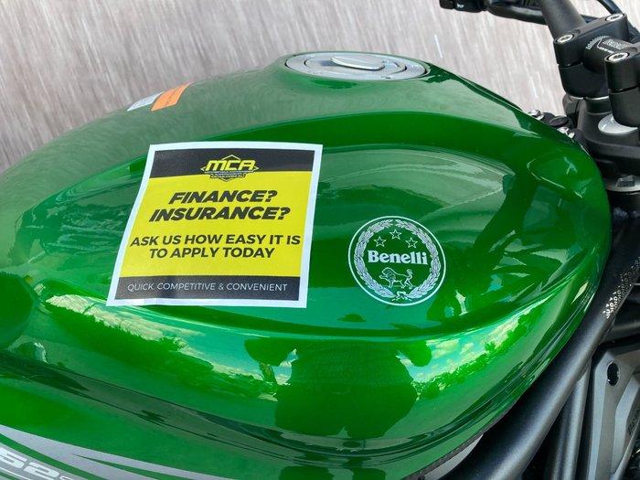 2021 Benelli 2021 Benelli 750CC 752S Road Green