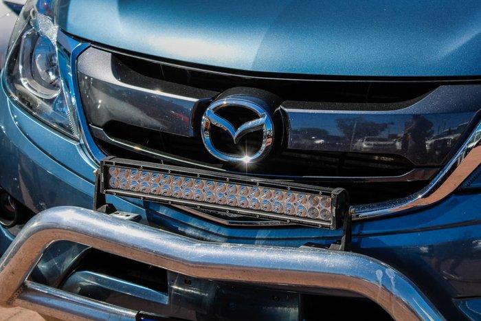 2016 Mazda BT-50 GT UR 4X4 Dual Range Blue