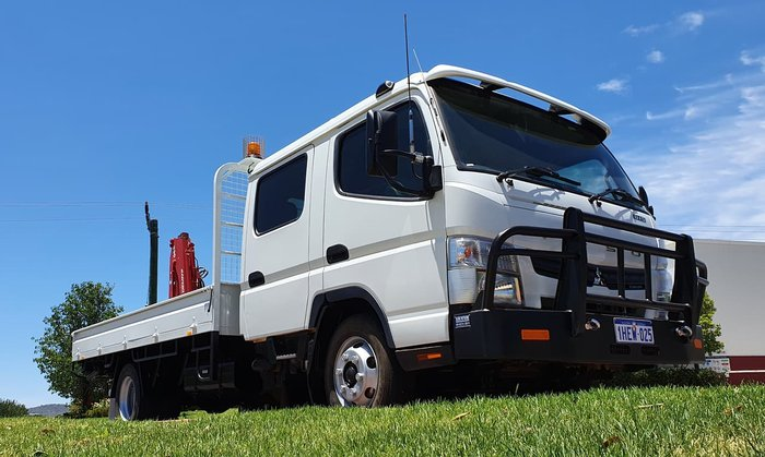 2015 FUSO FG CANTER WHITE