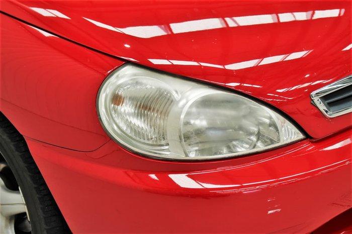 2001 Kia Rio LS (No Series) Red