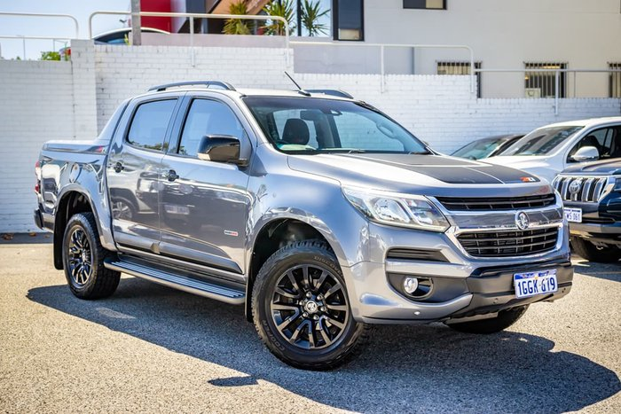 2016 Holden Colorado Z71 RG MY16 4X4 Dual Range Grey