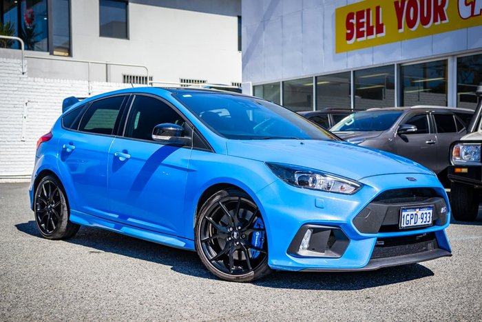 2017 Ford Focus RS Limited Edition LZ Four Wheel Drive Blue
