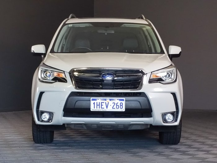 2015 Subaru Forester XT S4 MY15 Four Wheel Drive White