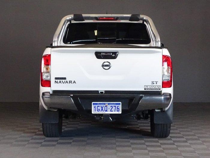 2015 Nissan Navara ST D23 4X4 Dual Range White