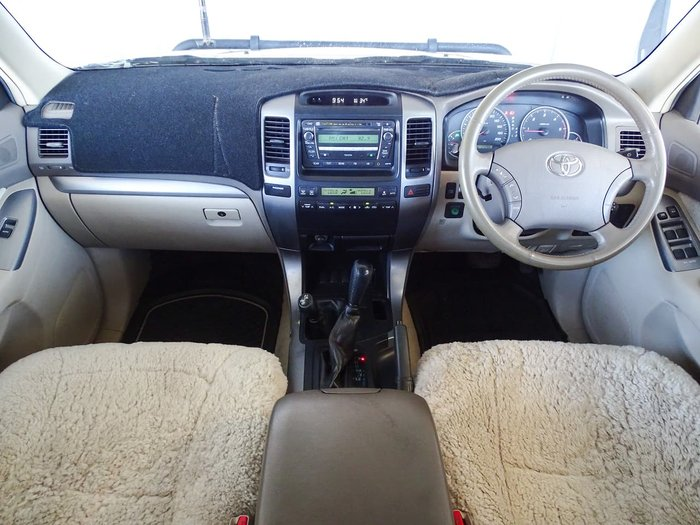 2007 Toyota Landcruiser Prado GXL KDJ120R 4X4 Constant Gold