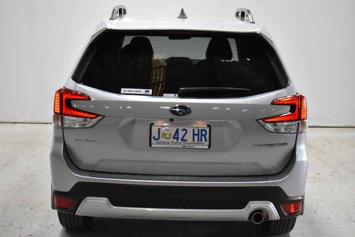 2019 Subaru Forester 2.5i-S S5 MY19 Four Wheel Drive Ice Silver