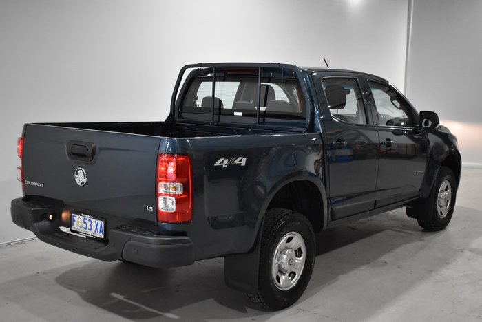 2016 Holden Colorado LS RG MY17 4X4 Dual Range Blue Mountain