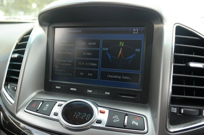 2013 Holden Captiva 7 LX CG Series II MY12 4X4 On Demand Silver